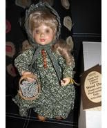 ANRI Wood Doll Emily NWT In Original Box. New, never used. Retired, Large Collection