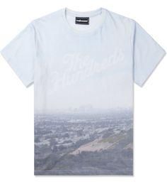 The Hundreds White Fog T-Shirt Picutre