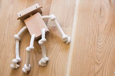 Hardwood & Rope Toys from Monroe Workshop - Design Milk