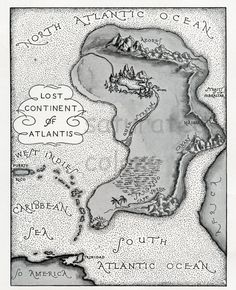 Atlantis - The geography of the Atlantic Ocean does not allow for Atlantis to have been located there. There is a very long underwater range of volcanic mountains stretching almost the entire length of the Atlantic, and they are still spewing out molten rock and lava.