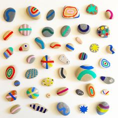 Artist Spotlight Series: Mary Matson - The English Room Summer Crafts, Diy Crafts For Kids, Arts And Crafts, Art Projects, Projects To Try, Creative Kids, Painted Rocks, Activities For Kids, Origami