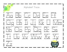 Looking for a Printable Alphabet Charts Kindergarten. We have Printable Alphabet Charts Kindergarten and the other about Printable Chart it free. Alphabet A, Free Printable Alphabet Letters, Alphabet Writing Practice, Printable Alphabet Worksheets, Letter Tracing Worksheets, Writing Practice Worksheets, Tracing Letters, Print Letters, Tracing Sheets
