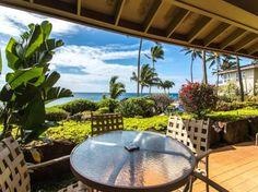 Purchase vacation rental property on Kauai. Kauai Condo Rentals, Kauai Vacation Rentals, Heated Pool, Rental Property, Patio, Luxury, Outdoor Decor, Beautiful, Home Decor
