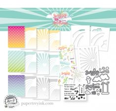 What beautiful possibilities! Make It Market Mini Kit: Sunshine & Rainbows
