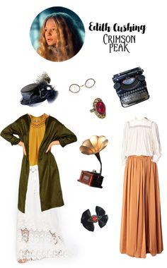 Inspiration Shopping Edith Cushing Crimson Peak - Paris Fait Son Cinéma
