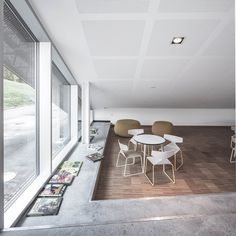 Gallery of Mariehøj Cultural Centre / Sophus Søbye Arkitekter + WE Architecture - 42 Concept Architecture, Architecture Photo, Cultural Center, Centre, Studios, Dining Table, Furniture, Gallery, Coast