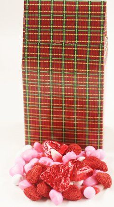 Scott's Cakes Valentine Deluxe Mix in a 8 oz. Standing Christmas Plaid Box ** Continue @