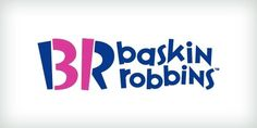 Baskin Robbins | Though some believe the shade of pink to symbolize ice cream, the color choice actually has a different use. Introduced in 2005, this logo uses the companys initials to cleverly advertise the number of ice cream flavours the chain offers.