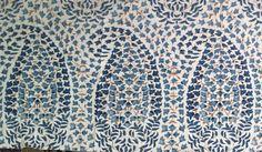 Lahore in Monsoon blue by Lisa Fine Textiles, via @stylecourt (courtney barnes)