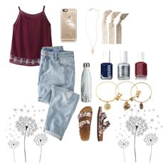 """Spring time"" by taylorswift-411 ❤ liked on Polyvore featuring jcp, WithChic, Wrap, TravelSmith, Alex and Ani, Casetify, Essie, Topshop, Emi-Jay and Spring"