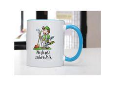 Hrnek Nejlepší zahradník - POTISKNUTO Pavlova, Mugs, Tableware, Dinnerware, Tumblers, Tablewares, Mug, Dishes, Place Settings