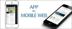Mobile App vs. Mobile Website: Was ist im Jahr 2013 besser geeignet und auf welche Lösung sollten moderne Unternehmen setzen? Wir verraten es Ihnen in unserem neuen Blogartikel!