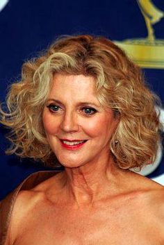 A Great Look for Wavy Hair Blythe Danner Women Over 50