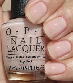 bridal nails OPI Don't Burst My Bubble Nail Polish Beige Tan Cream Wedding Lore The Nail Lacquer, Red Nail Polish, Nail Base Coat, Christmas Manicure, My Bubbles, Opi Nails, Glitter Nails, Nude Nails, Nail Polishes