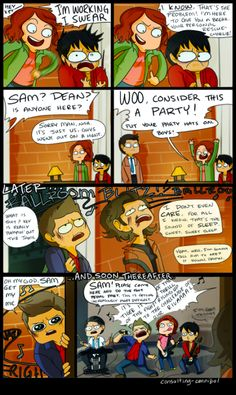 at the Bunker - by consulting-cannibal on Tumblr <-- I absolutely love this more than words can express