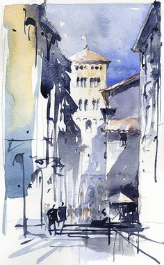 Lucca Italy Print by Tony Belobrajdic