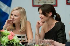 Katie Holmes and Malin Akerman in The Romantics (2010)