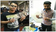 | IBCC Bridge Design Competition | The students of MTech Structural Engineering 1st year (Dept of Civil and Environmental Engineering) participated in the finals of IBCC Bridge Design Competition held at IIT Bombay on 1 April 2016. The NCU team stood at the 7th position in the All India final round. Earlier, after qualifying in the preliminary round at NCU on 7 October 2015, the NCU team qualified the semi-finals from among a total of 40 teams from different colleges from all over India.