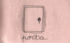 Learning Italian Language ~  Porta (door)