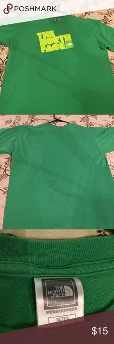 The North Face t-shirt OFFER UP! green The North Face t-shirt The North Face Shirts Tees - Short Sleeve