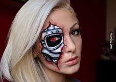 A Terminator makeup I did