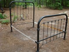 Antique Iron Bed Full Size $625