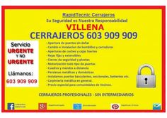 Cerrajeros Villena 603 932 932