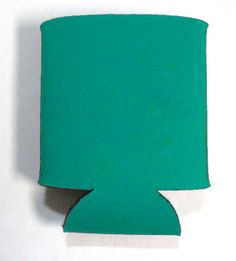 This is a sample of a TEAL collapsible Kan Kooler. It can be custom imprinted with your message by Crown Advertising.  Order at CrownAdv.com. Key Fobs, Advertising, Teal, Crown, Mugs, Corona, Keychains, Tumblers, Mug