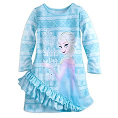 Elsa Nightshirt for Girls | Disney Store