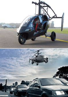 PAL V Flying Car - This isn't quite the Jetsons yet but we're getting there.