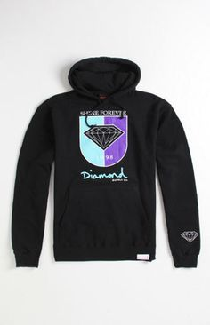 Diamond Supply Co Crest Pullover Hoodie at PacSun.com @Adriana Resendez CHRISTMAS !!!!!!!!!!!
