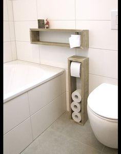 **Toilettenpapierhalter, Toilettenpapierständer, Klopapierhalter, Regal,  H/B/T 65