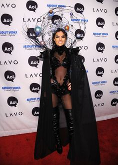 Miss Universe Ximena Navarrete really took her beauty pageant title literally for her costume! 2010