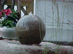 hypertufa ball