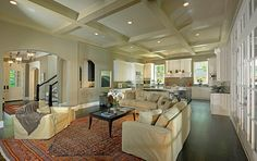 Living Areas - traditional - living room - dallas - Platinum Series by Mark Molthan