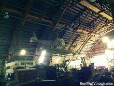 Exploring: What's In That Old Barn