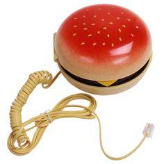Fun Burger Cheeseburger Phone Voice Telephone