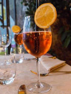 The Aperol Spritz: perfect for an Italian summer evening