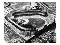 New York: Yankee Stadium Art Print at Art.com