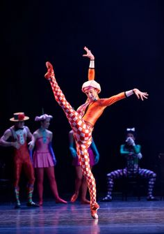 Jonathan Watkins in The Royal Ballet's 'Elite Syncopations'.