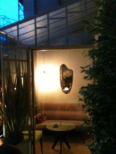 my glasshouse by night