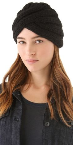 This Eugenia Kim 'Dominique' wool hat has the elegant look of a turban $115, get it here: http://rstyle.me/~cSzE