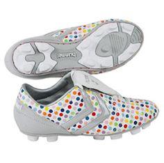 I want these so bad Polka dot cleats