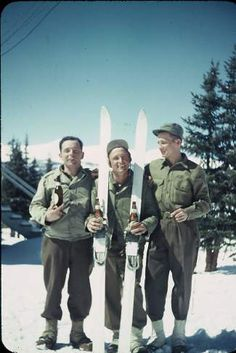 7bb666d4e It wasn t all serious when members of the 10th Mountain Division trained at  Camp