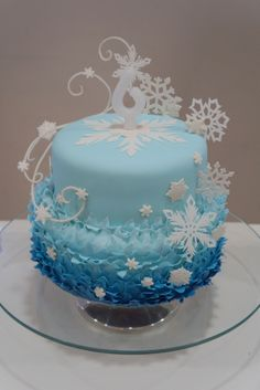 Bolo da Frozen - Cake Frozen by Jessica Pires www.minhadigital.blogspot.com