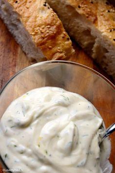 Skinny Griekse yoghurt dip - LoveMyFood