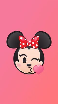 Minnie mouse emoji