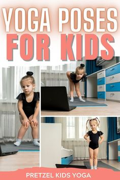These easy yoga poses for kids are perfect to teach beginners or keep the attention of young children. The free printable yoga cards for kids are so fun to do as a stretch break or homeschool activity. Stretches For Kids, Yoga For Kids, Exercise For Kids, Preschool Yoga, Childrens Yoga, Fitness Facts, Mindfulness For Kids, Easy Yoga Poses, Yoga Workouts