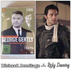 "Richard Armitage as Ricky Deeming in ""Inspector George Gently"" Series 1, Episode 1 - ""George Gently / Gently Go Man"" - (2007)"