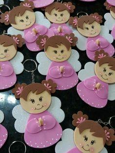 Baby Shower, Crochet Patterns, Kids, Craft Rooms, Mothers Day Crafts, Craft Ideas, Girl Christening Decorations, Craft Tutorials, Creative Crafts